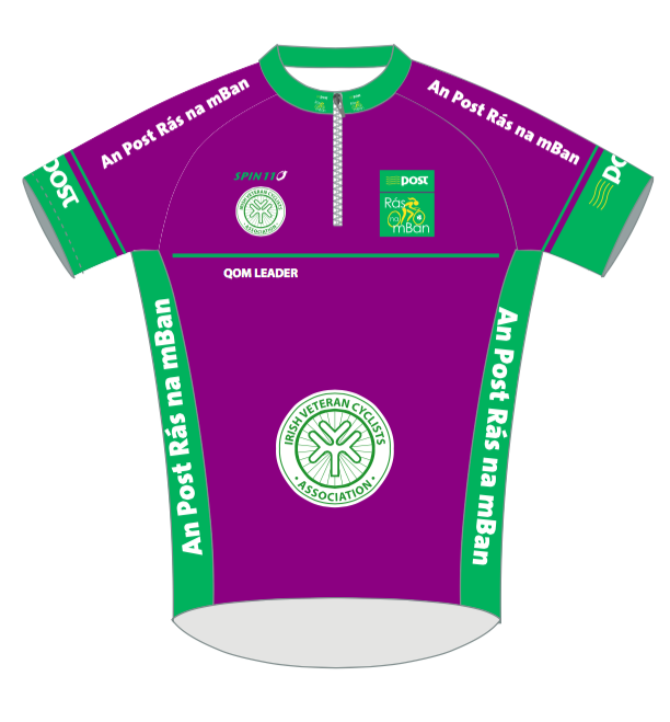 An Post Ras na mBan Short Sleeve Jersey QOM/Purple