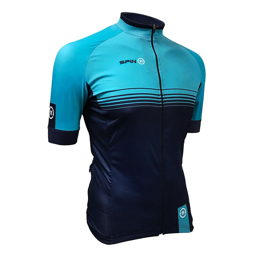S+ Blue Bio Ceramic Short Sleeve Jersey