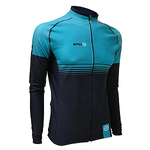 S+ Blue Super Roubaix Long Sleeve Winter Jersey