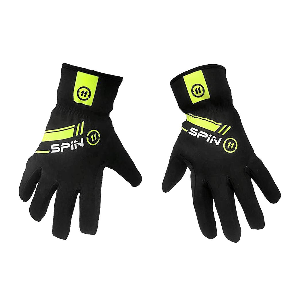 S+ Black and Fluo Winter Gloves